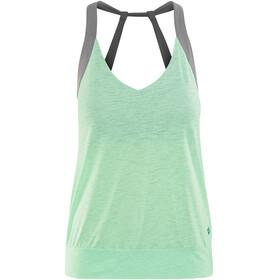 Prana Bedrock Mouwloos Shirt Dames groen